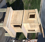 2 Level Outdoor Cedar Cat House