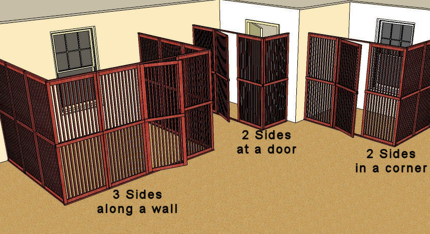 Merveilleux Pet Room Enclosures Setup Examples
