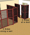 Pet Room Enclosures Setup Examples