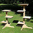 3 and 4 Level Cedar Cat Trees