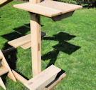 Outdoor Cat Gym Perches