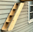 Outdoor Cat Stairs