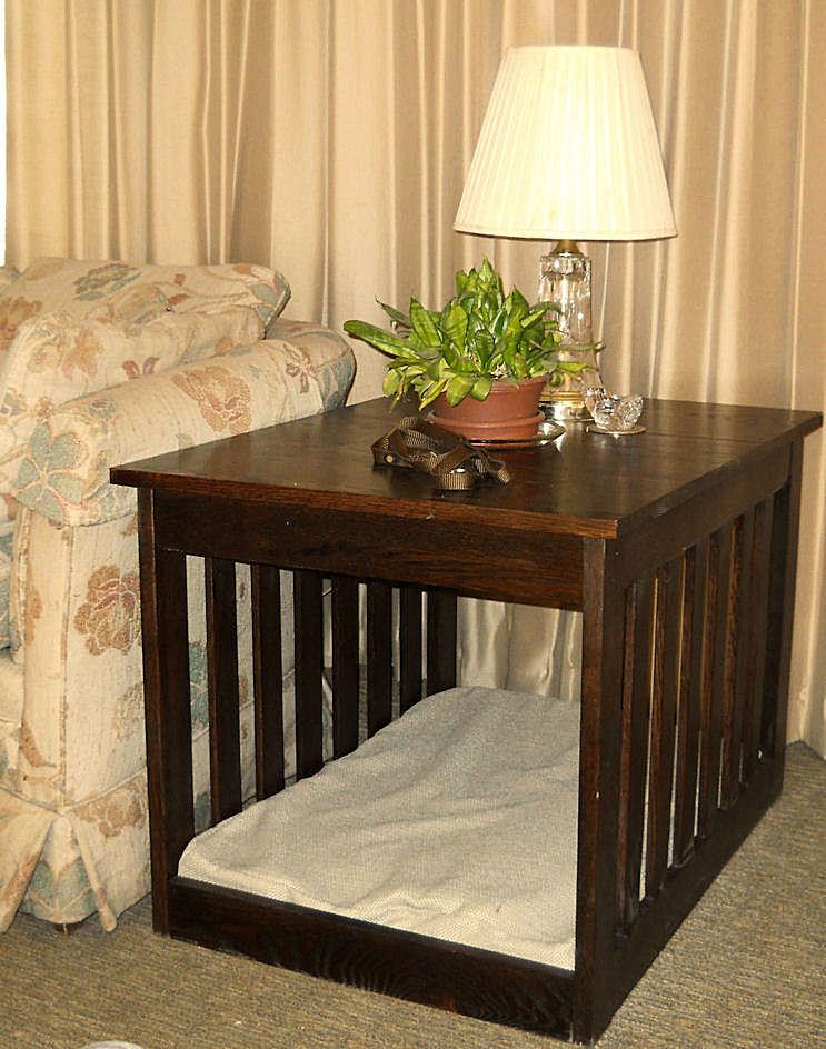Gentil Medium End Table Dog Bed Furniture