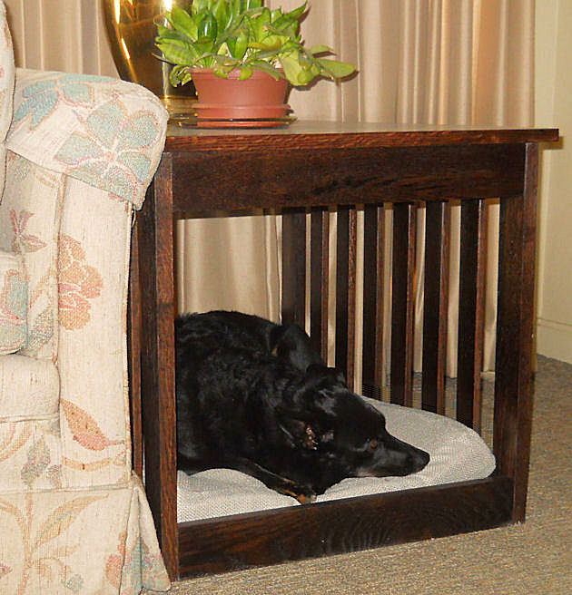 dog bed end table furniture