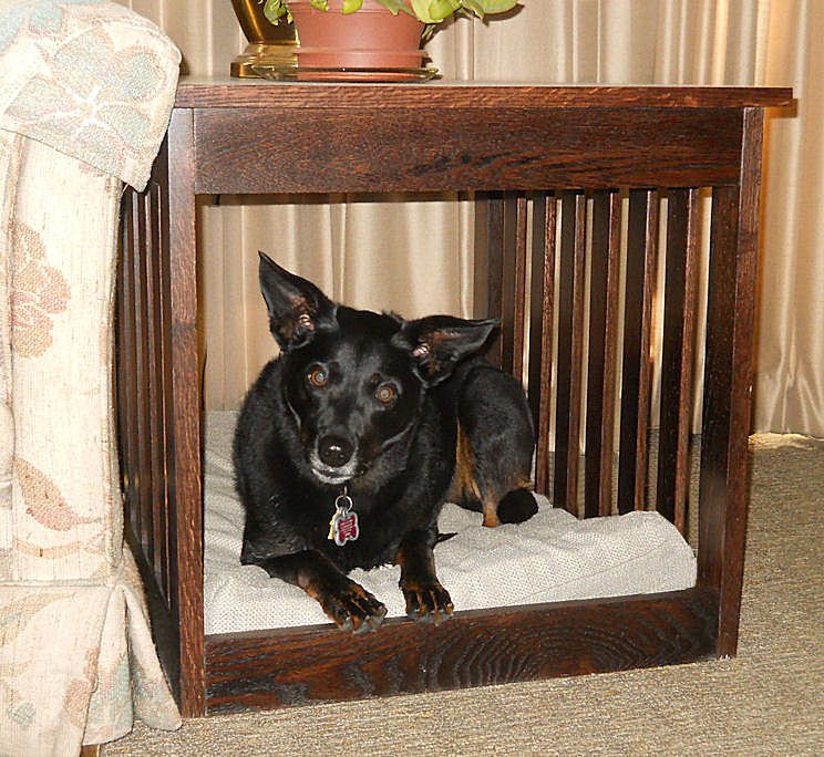 Excellent Dog Bed End Table Furniture TX61