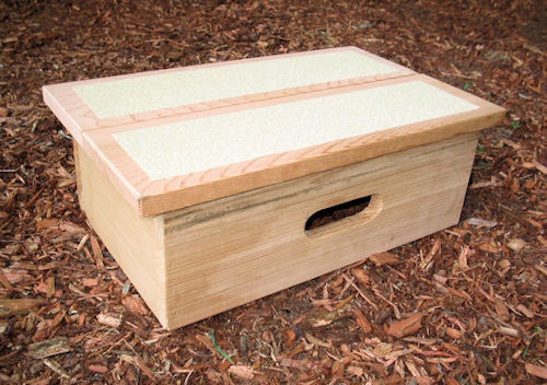 Single Cedar Pet Step
