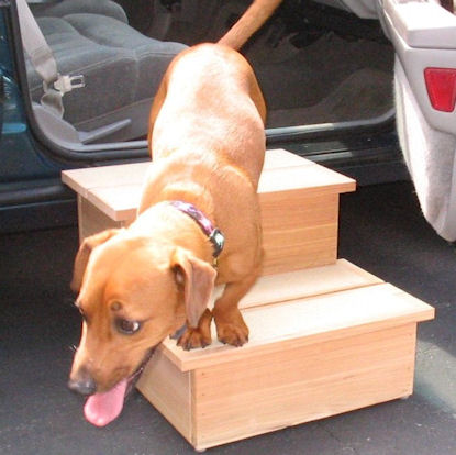 Double Cedar Pet Step