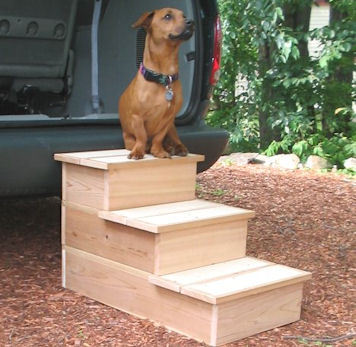 Triple Cedar Pet Step