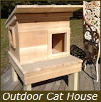 Outdoor Cat House Shelter